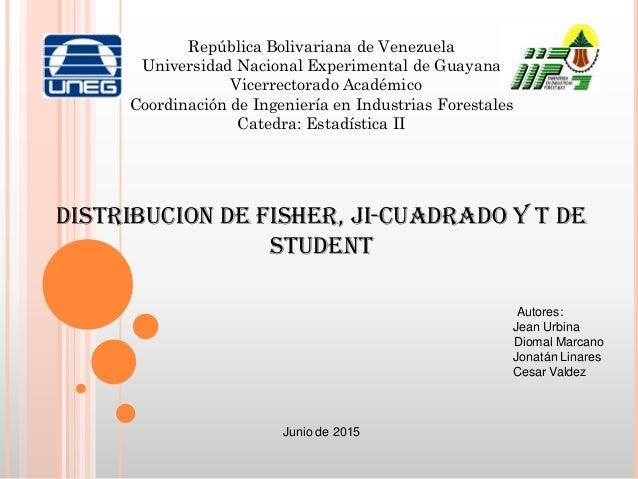 República Bolivariana de Venezuela Universidad Nacional Experimental de Guayana Vicerrectorado Académico Coordinación de I...