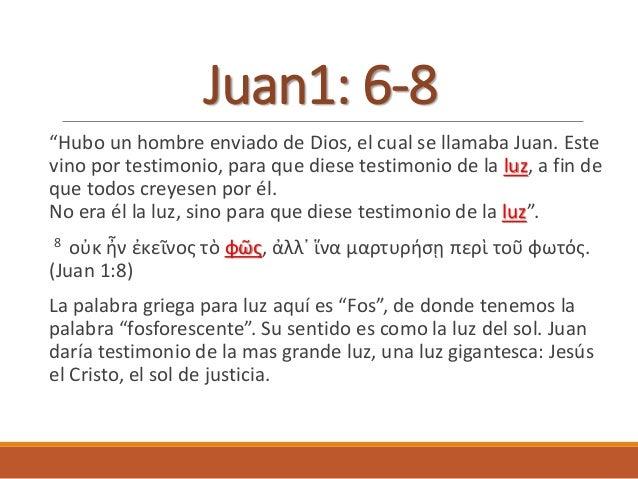 """¿Qué clase de luz era Juan el bautista? Juan 5:35 """"Él era antorcha que ardía y alumbraba; y vosotros quisisteis regocijaro..."""