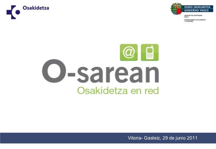 Vitoria- Gasteiz, 29 de junio 2011 Draft