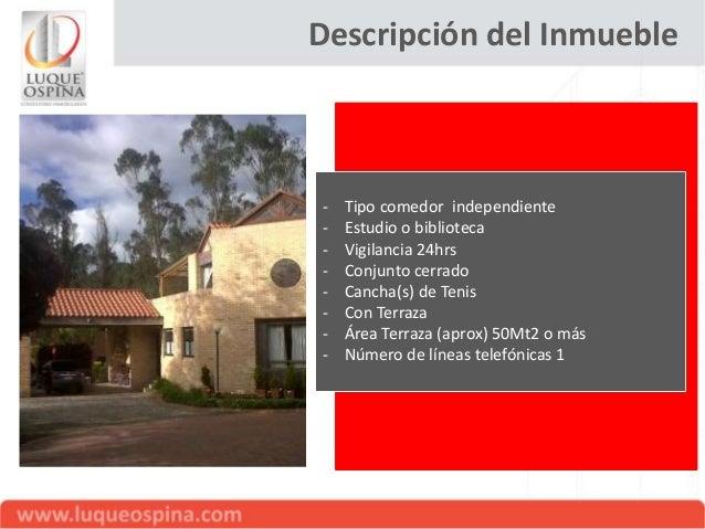 Descripción del Inmueble - Tipo finca: Casa - Valor venta: $ 1.800.000.000 - Se ofrece en Permuta - Tiempo de construida: ...