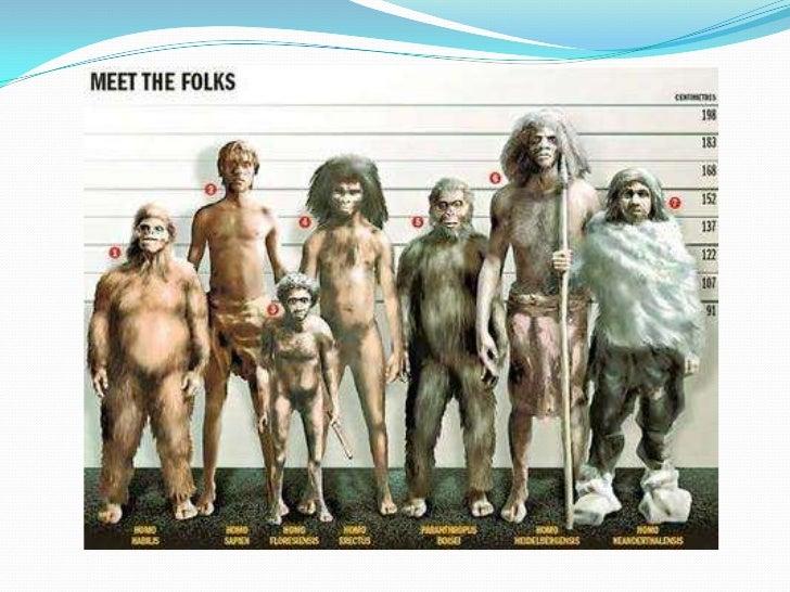 Origen y evolución del ser humano