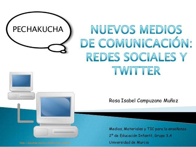 Rosa Isabel Campuzano MuñozMedios, Materiales y TIC para la enseñanza2º de Educación Infantil, Grupo 3.AUniversidad de Mur...