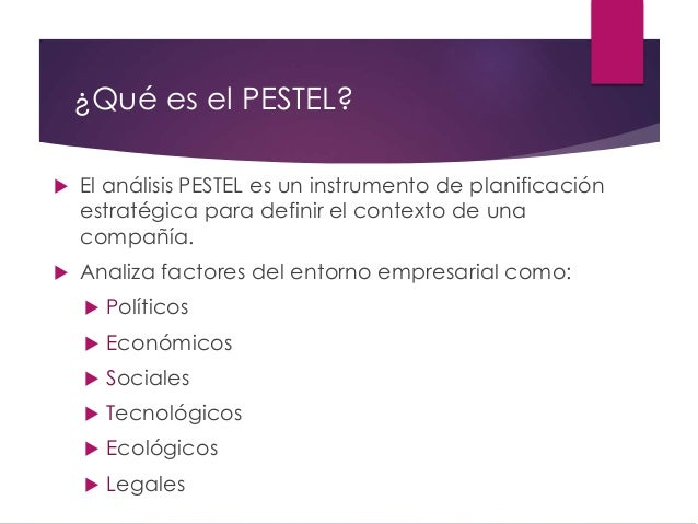 Presentación de la herramienta de Marketing Estratégico PESTEL para emprendedores y empresas Slide 3