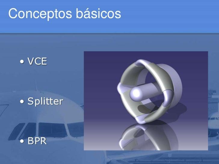 Sistema Splitter y adaptación a los VCE Slide 2