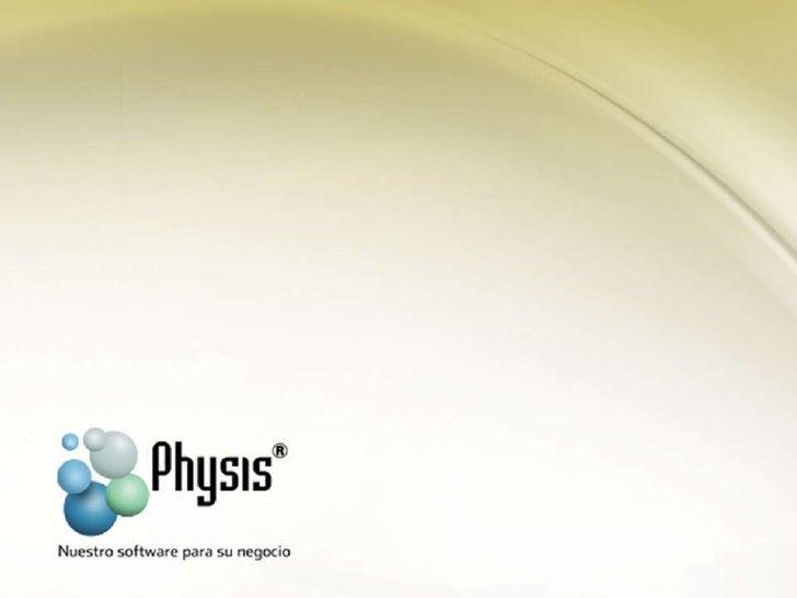 Presentación physis gestión agro Slide 1