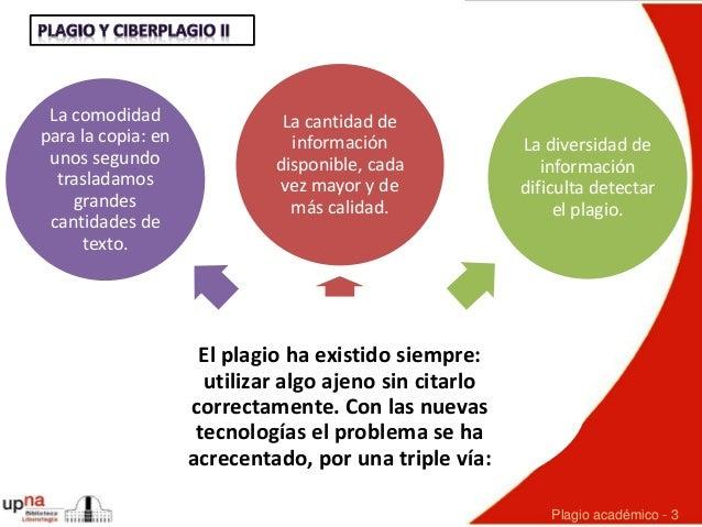 Plagio y ciberplagio entre el alumnado académico: estado de la cuestión, últimos estudios  y herramientas antiplagio Slide 3