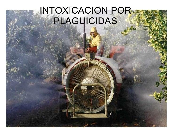 INTOXICACION POR PLAGUICIDAS