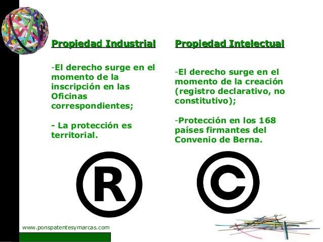 Presentaci n sobre propiedad industrial e intelectual en for Oficinas del registro de la propiedad
