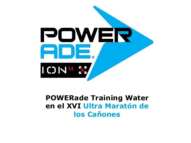 powerade training water en el xvi ultra marat243n de los ca241ones