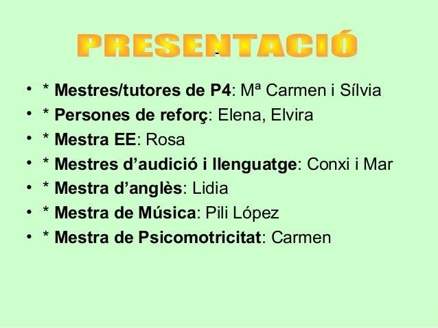REUNIO DE PARES P4 Slide 2