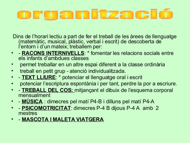REUNIO DE PARES P4 Slide 3