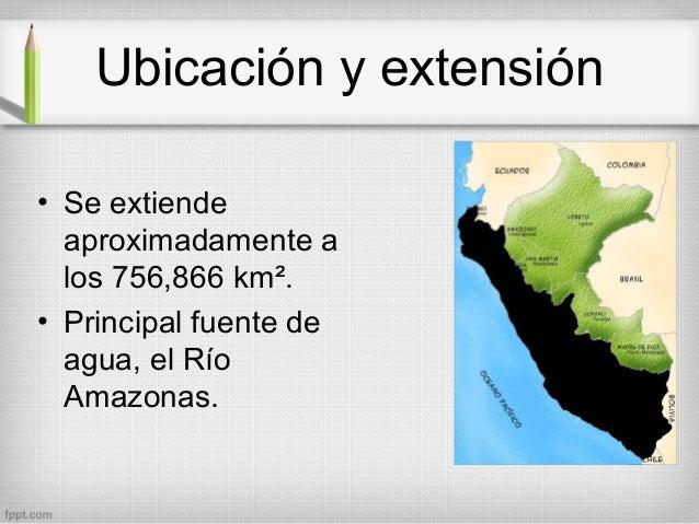 Selva peruana for Ubicacion de la cocina