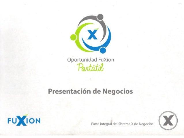 Presentación Fuxion ppt