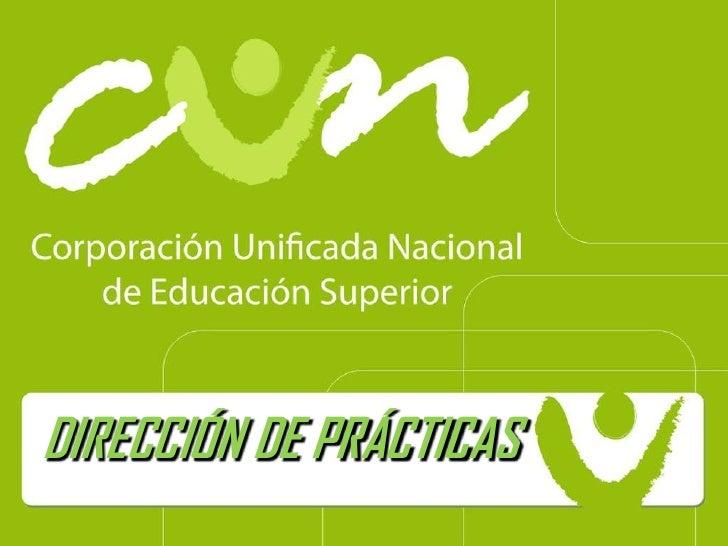 DIRECCIÓN DE PRÁCTICAS<br />