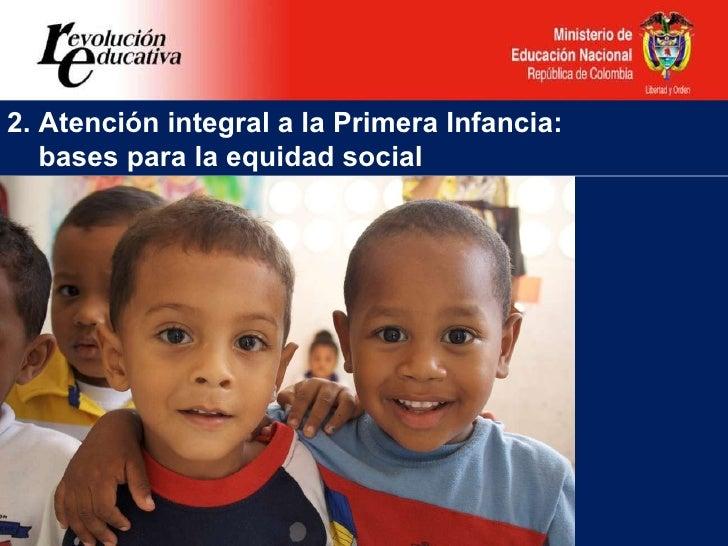 Política Educativa para la Primera Infancia en el marco de una atenci…