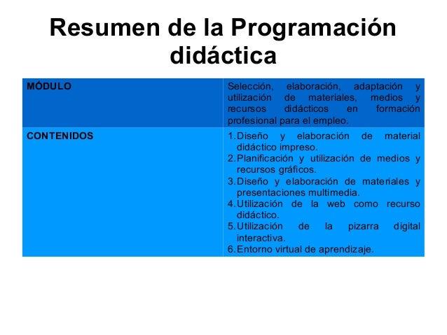 Presentaci n certificado de profesionalidad docencia de for Oficina virtual de formacion profesional para el empleo