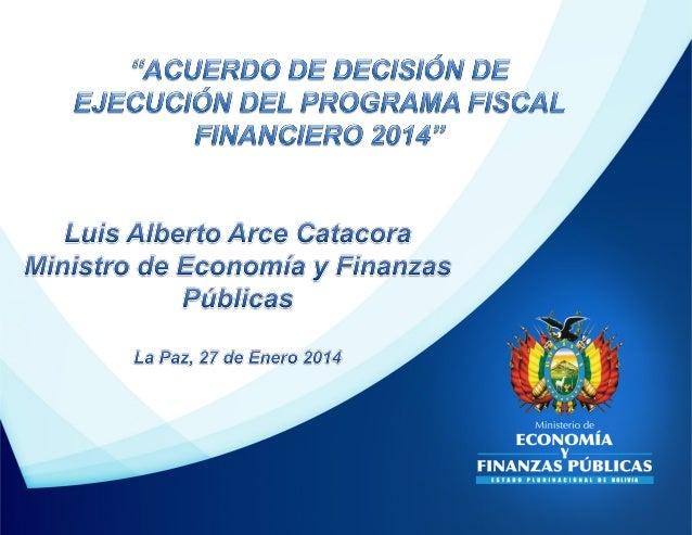 Crecimiento Económico, 2013-2014 (En porcentaje) 2013  2014  Proyección (WEO Abril 2013)  Proyección (WEO Octubre 2013)  3...