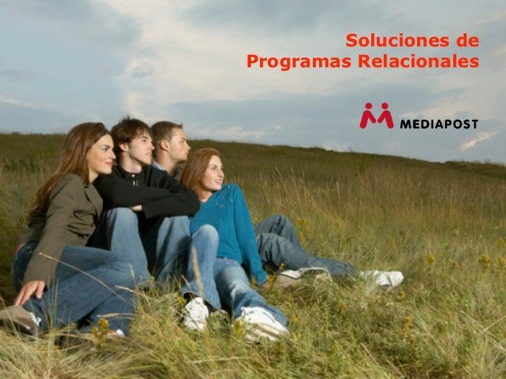 Soluciones deProgramas Relacionales