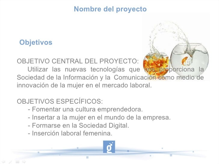 Objetivos  OBJETIVO CENTRAL DEL PROYECTO: Utilizar las nuevas tecnologías que nos proporciona la Sociedad de la Informació...