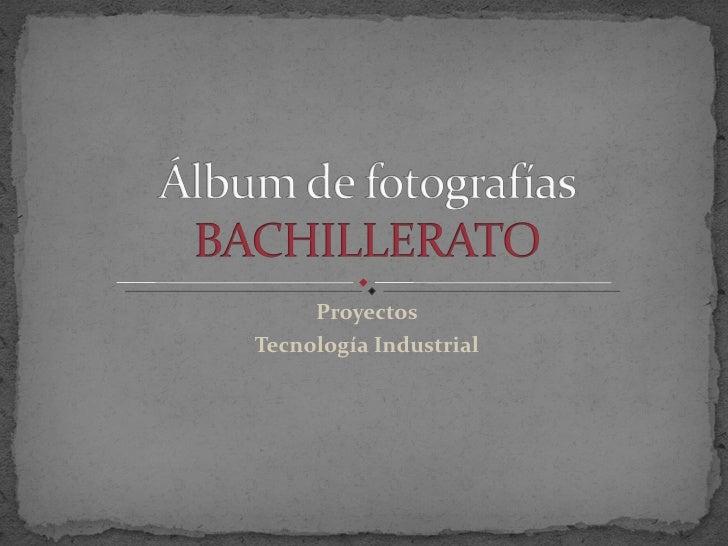 Proyectos Tecnología Industrial