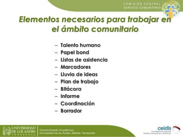 Presentaci N Proyecto Socio Comunitario Y Educacion Popular
