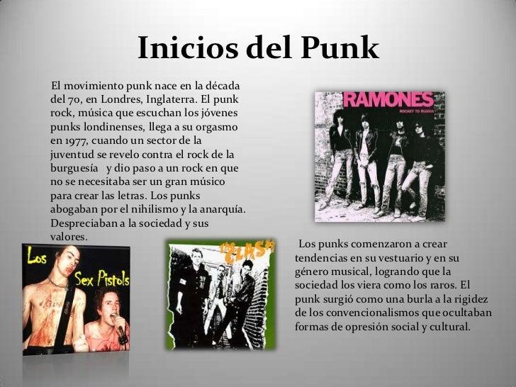 Presentación punk Slide 2
