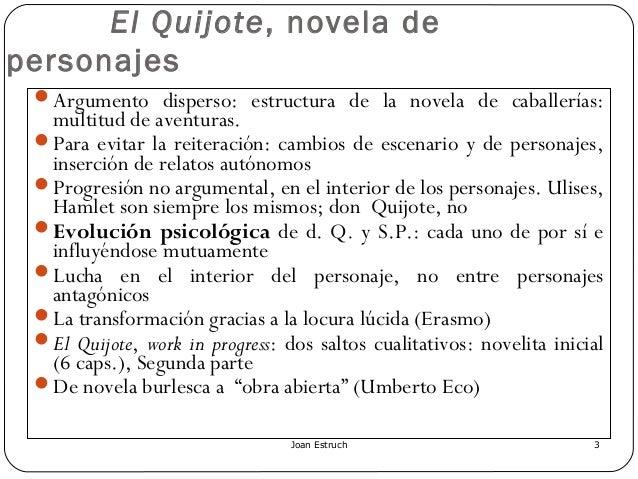 Presentación Quijote (capítulos para selectividad) Slide 3