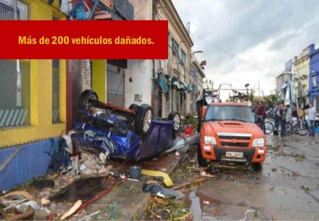 La economía de la ciudad paralizada. Más de 100 comerciantes damnificados directamente.