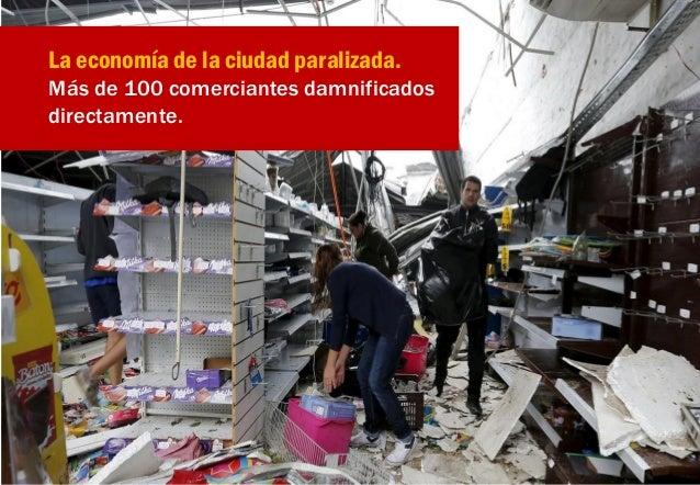 """Se estima unos 100 millones de dólares para reparar los daños """"directos"""". Sin contempla los daños indirectos por tener la ..."""