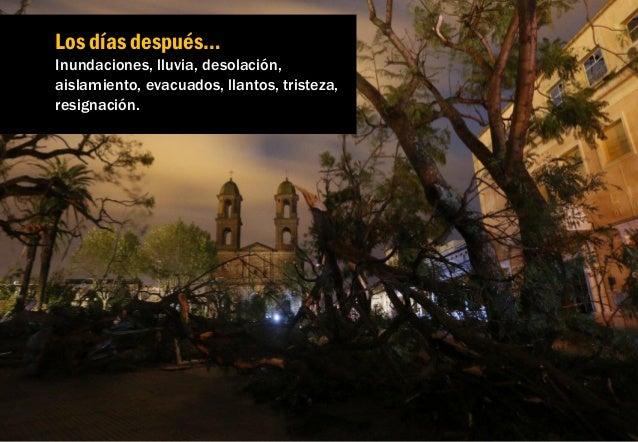 La ciudad queda sin luz, sin señal de celular y aislada de la capital. No pudiendo llegar a Montevideo por las inundacione...