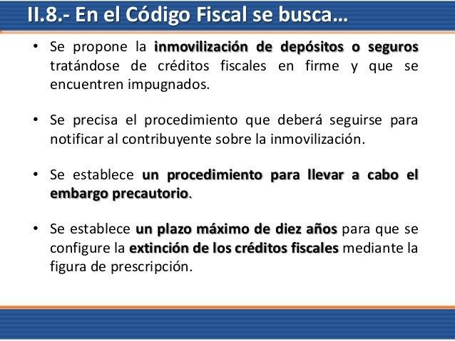 Prescripcion De Creditos Fiscales Codigo Fiscal De La
