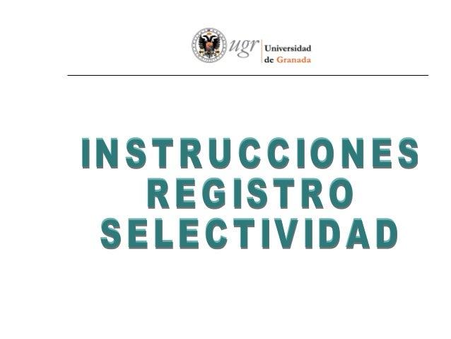 Acceder a la Web delSERVICIO DEALUMNOSAcceder al portaldeSELECTIVIDAD