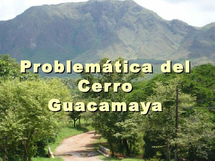 Pr oblemática del      Cer r o    Guacamaya