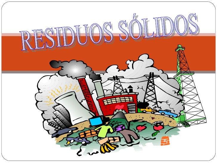 Presentaci n residuos solidos for Suelo organico dibujo animado