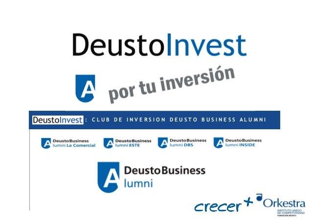: CLUB DE INVERSION DEUSTO BUSINESS ALUMNI