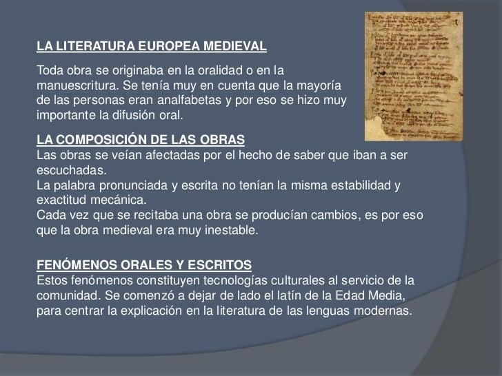 Araceli Isaia</li></li></ul><li>CONTEXTO HISTÓRICO<br />Se dividió en cuatro etapas:<br />TEMPRANA EDAD MEDIA <br /><ul><l...