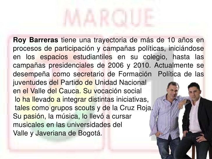 Roy Barreras U 1
