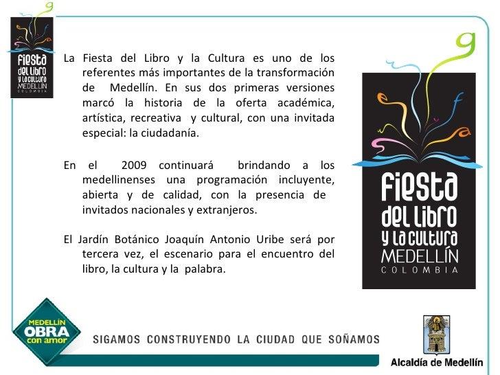 Fiesta del libro 2009 for Programacion jardin botanico