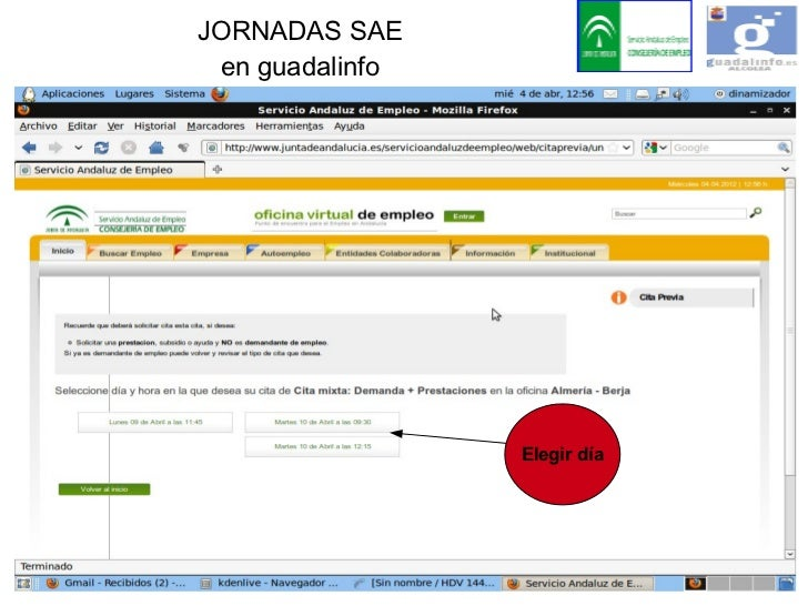 Oficina virtual de empleo sae for Sepe oficina virtual