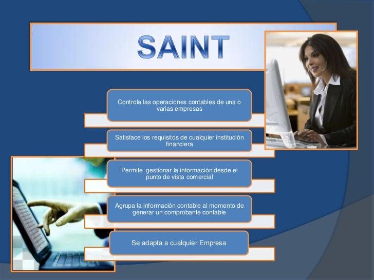 Controla las operaciones contables de una o               varias empresasSatisface los requisitos de cualquier institución...