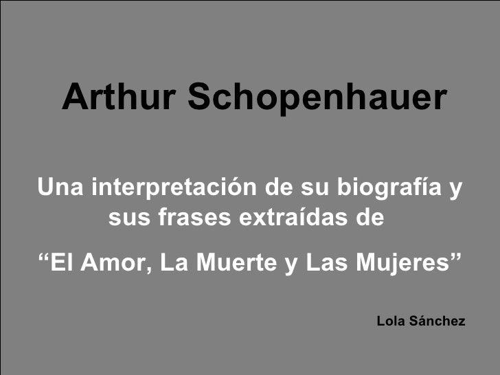 Presentación Schopenhauer