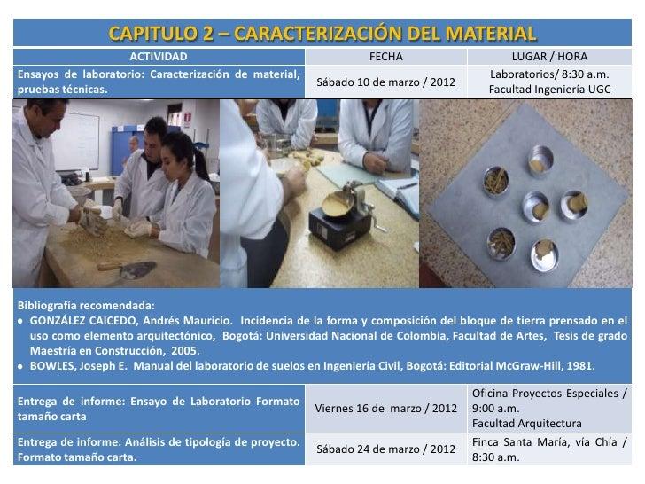 Bloques tierra compactado semillero for Maestria en interiorismo arquitectonico