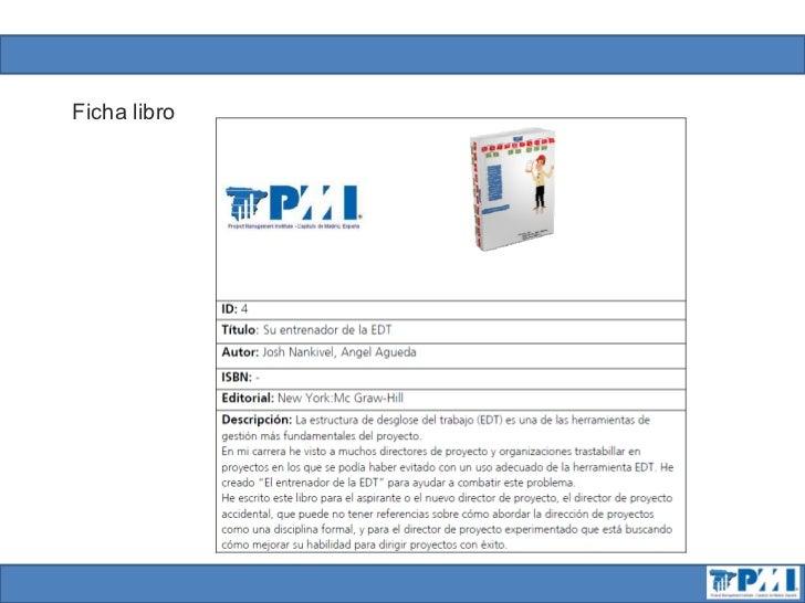 Presentación servicio biblioteca pmi madrid chapter rev1