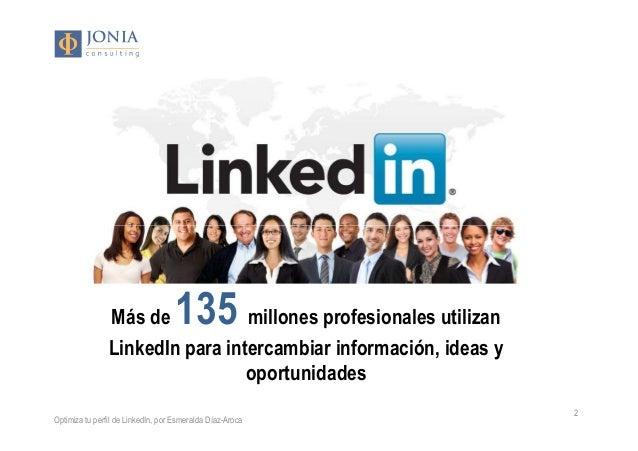 Construye tu marca personal en LinkedIn Slide 2