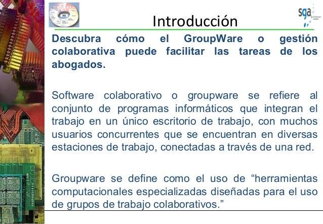 Presentación del Proucto de Software SGA - Sistema de Gestión de Abogados, Slide 3