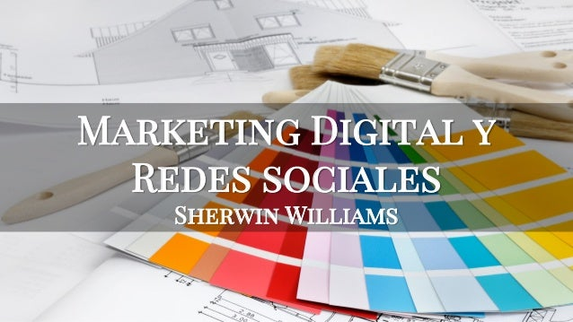 Marketing Digital y Redes sociales Sherwin Williams