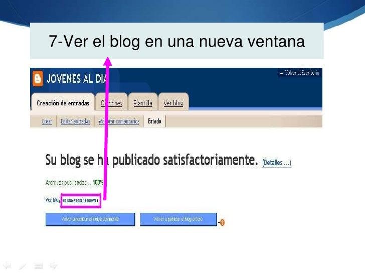 7-Ver el blog en una nueva ventana<br />