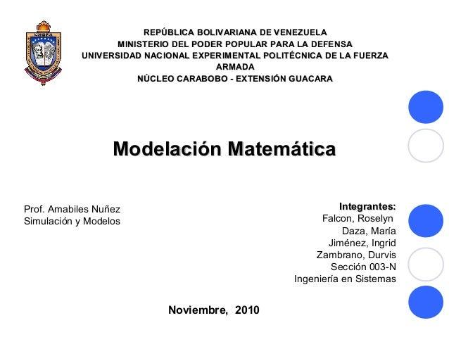 REPÚBLICA BOLIVARIANA DE VENEZUELAREPÚBLICA BOLIVARIANA DE VENEZUELA MINISTERIO DEL PODER POPULAR PARA LA DEFENSAMINISTERI...