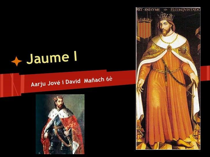 Jaume I                        ch 6èAarju Jov é i David Maña