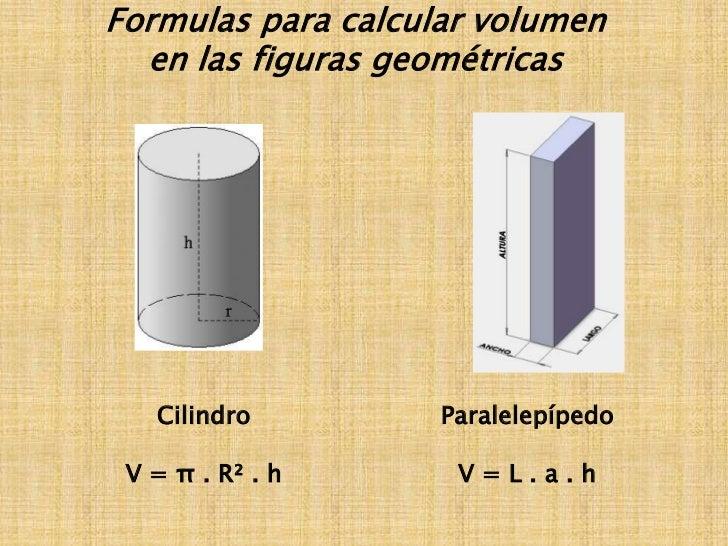 Presentaci n sobre reas de superficies planas y volumen for Calcular volumen piscina